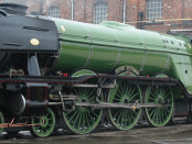 The Flying Scotsman at the Doncaster Works 2003