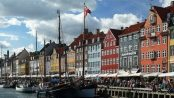 Nyhavn -- a 17th-century waterfront, canal and entertainment district in Copenhagen, Denmark by Scythian via Wikipedia Commons