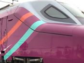 Avlo is Spain's new low-cost, high-speed (bright purple) rail service. Photo: RENFE